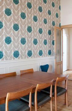 Kitchen Mood Board On Pinterest Orla Kiely Metro Tiles
