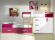 Cool Space Saving Bunk Bed for Children