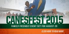 Everyone is welcome to join the Canes at Canesfest!