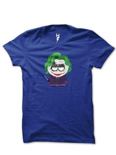 Joker Stan - South Park from XTEAS  Follows the misadventures of four irreverent grade-schoolers in the quiet, dysfunctional town of South Park, Colorado. South Park TV Show Inspired Tee Series  Printed on 100% Organic Cotton, XTEAS Premium T-Shirt.