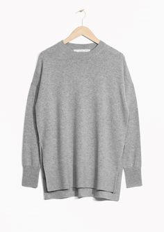 & Other Stories image 1 of Cashmere Sweater in Grey
