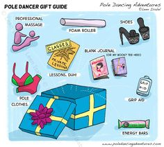 Pole Dancer's Gift Guide - Pole Dancing Adventures Comics