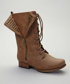 Taupe Jetta Combat Boot i need these in my life