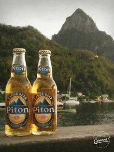 Carribean beer. St.Lucia