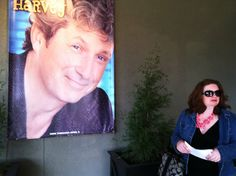 """Picture courtesy of @Courtney Brummer-Clark """"Arriving at The New Theater Restaurant to see """"Harvey"""" and the indomitable Charles Shaughnessy in all of his superb awesomeness. Consequently, I don't know what I was looking at when this pic was snapped. This is what happens when I'm not paying attention to Todd."""" HARVEY starring Charles Shaughnessy #NewTheatreRestaurant in Overland Park, Ks"""