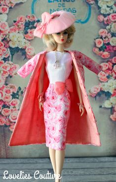 ooak silkstone barbie couture fashion