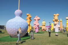 We caught up with some of the visual artists of Coachella to talk about the inspiration behind their whimsical works.