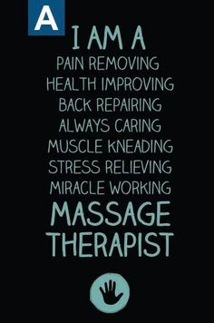 Massage Therapist are the best!