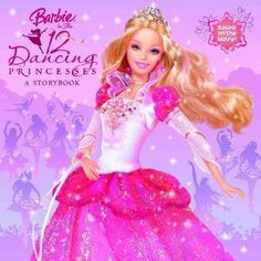 Barbie stars in her 7th direct to DVD movie, Barbie in the Twelve Dancing Princesses ! This time, Barbie is in a magical, musical adventure with her princess sisters! When evil Aunt Rowena moves into