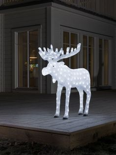 konstsmide 6261 203 acrylic led moose 100cm outdoor christmas decorationschristmas lightschristmas