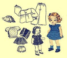 Instant PDF Download Vintage Sewing Pattern to make by ickythecat