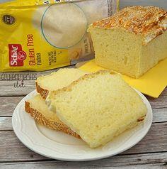 Gluténmentes kenyér Schär Farina lisztből | Gluténmentes élet Fodmap, Ketchup, Cornbread, Vanilla Cake, Paleo, Gluten, Cookies, Ethnic Recipes, Food