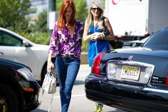 Taylor Tomasi Hill - Street Style From New York Fashion Week, Day Two - The Cut
