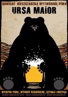 Ursa Maior, Polish Beer Promo Poster
