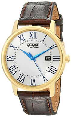 "Citizen Men's BM6752-02A ""Eco-Drive"" Gold-Tone Stainless Steel Watch"
