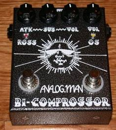 Analog Man Bi-Comprossor I own this one, it's basically a 'talent' pedal that turns on whenever I solo.