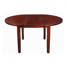 Deze ronde uitschuif-eettafel is een verrijking voor je interieur en is gemaakt van acacia hout in sierra brown kleur gelakt. Deze hardhout soort staat bekend om de fijne nerf, vlamtekeningen en lichte kleurschakeringen.  Afmeting: 77x120/160 (hxb)