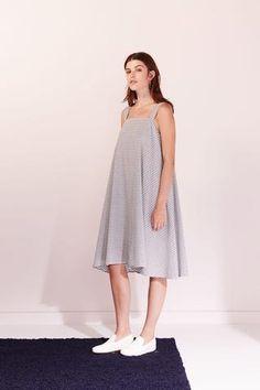 Iris Dress - Sea Stripe