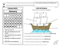 Looking for solid grade level Morning Work? Or quick assessment checks? Then Daily Common Core and More is for you! This is a monthly series designed especially for 2nd grade.  Each monthly unit has 20 CCSS based worksheets with questions in math and language arts.  SAMPLE SKILLS INCLUDED: * Editing Sentences * Homonyms * Calendar Math * Counting Coins * Using Commas * Interesting Informational Reading on Pilgrim life * Math Riddles * Labeling Diagrams and more!