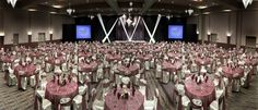 www.vegas-venues.com - Palms & PalmsPlace Casino Resort Las Vegas Ballroom - Banquet Setup