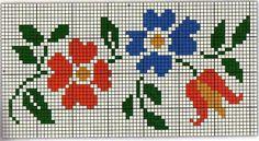 Tiny Cross Stitch, Beaded Cross Stitch, Cross Stitch Borders, Cross Stitch Flowers, Modern Cross Stitch, Counted Cross Stitch Patterns, Cross Stitch Charts, Cross Stitch Designs, Cross Stitching