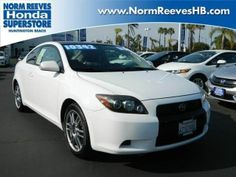 2008 Scion tC, 109,151 miles, $10,342.