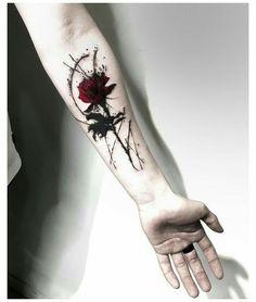 Rose Tattoos For Men, Small Arm Tattoos, Arm Tattoos For Guys, Forearm Tattoos, Sexy Tattoos, Body Art Tattoos, Hand Tattoos, Girl Tattoos, Sleeve Tattoos