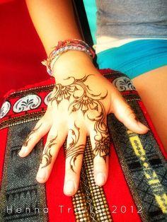 Festival henna style summer 2012 by Henna Trails, via Flickr