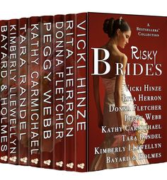 vicki hinze, Risky Brides collection preordering now.