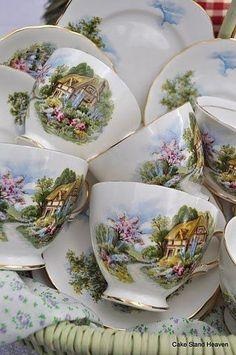 cottage teacups