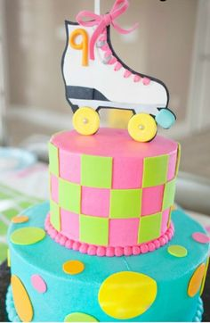 A bright, colorful and fun birthday party is what every child dreams of! Check out this fun neon skate party idea.