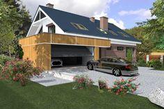 Projekty domów ABCentrum-DOM / Projekt DZP-9