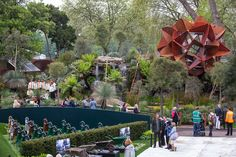 The Trailfinders Australian Garden presented by Fleming's at the Chelsea flower show. Best in show in 2013