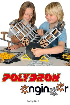 #Polydron #Engineer. ▶▶Gears have simple ratios (8, 16 & 24 teeth), so lots of models can be invented. ▶▶Lots of new engineering components included. ▶▶Unique D & T product provides clear links between #maths and #engineering. ▶▶Supplied with work cards. ▶▶Fully tested by #schools and experts.