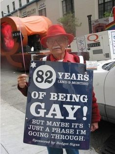 82 years of being gay