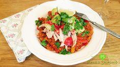 Mexická květáková rýže #whole30 #paleo #primal #paleosnadno