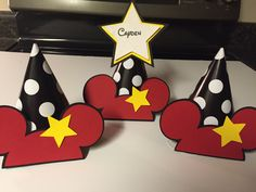 Micky Mouse Happy Birthday Hats, 12 Mickey Mouse Birthday Hats/Minnie Mouse Party, Mickey Mouse Decorations #babyshowerideas4u #birthdayparty  #babyshowerdecorations  #bridalshower  #bridalshowerideas #babyshowergames #bridalshowergame  #bridalshowerfavors  #bridalshowercakes  #babyshowerfavors  #babyshowercakes