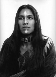 Painted ~Rick Mora ~Born Yaqui and Apache of Mestizo descent.