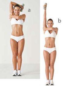 5 exercícios para perder gordura do tchauzinho | Triceps