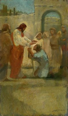 Healing by J. Kirk Richards