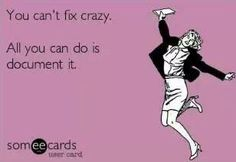 Omg so true!! Document everything from the crazy face beezies out there!!
