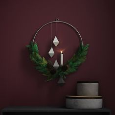Trendkrans | julpyssel | christmas craft