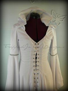 Kahlan Dress, Mother Confessor, Medeival Gown, Wedding Dress--Custom Made--. $300.00, via Etsy.