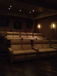 At home movie theater? Yes, please :)