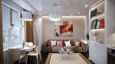 Petit appartement à l'ambiance moderne et tendance