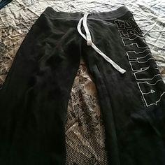 PINK Victoria secret sweats Bootcut normal use Victoria's Secret Pants Wide Leg