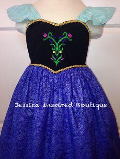 Frozen Inspired Princess Anna Sundress - Anna Dress Best frozen dresses on Etsy