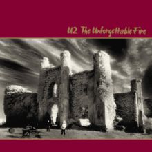 The Unforgettable Fire is the fourth studio album by Irish rock band U2. It was released in October 1984. The band wanted a different musical direction following the harder-hitting rock of their 1983 album War. They employed Brian Eno and Daniel Lanois to produce and assist them experiment with a more ambient and abstract sound. The resulting change in direction was at the time the band's most dramatic.
