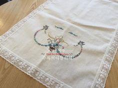 KSH님의 즐거운 프랑스자수시간 <수록의 프랑스자수 배우기> : 네이버 블로그 Lava, Napkins, Towels, Dinner Napkins, Pallet