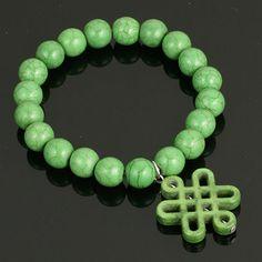 Stretch Infinity Knot Braclet. www.shazbamdecor.com Knots, Infinity, Beaded Bracelets, Jewelry, Jewellery Making, Jewels, Knot, Pearl Bracelets, Jewlery